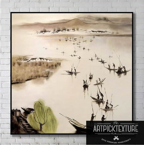 Chinese Painting Style by Artpicktexture