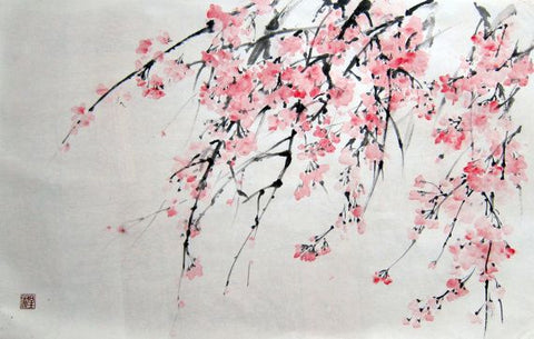 Japanese Painting Style By Artpicktexture