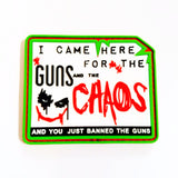 "Banned ""Chaos"" Joker Morale Patch"