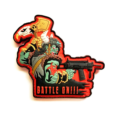 "The ""Battle On"" Morale Patch - Battle Patches"