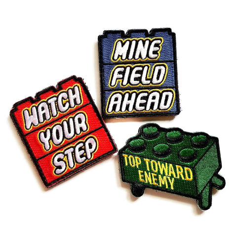 Minefield Morale Patch Set - Battle Patches