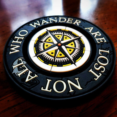 "The Explorer Series ""NOT ALL WHO WANDER ARE LOST"" Morale Patch - Battle Patches"
