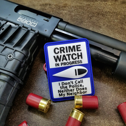CRIME WATCH MORALE PATCH - Battle Patches