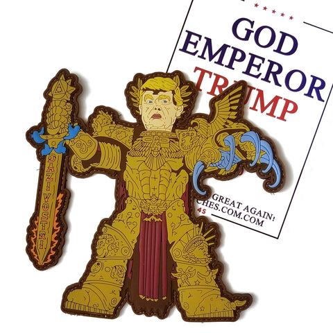GOD EMPEROR TRUMP - Battle Patches