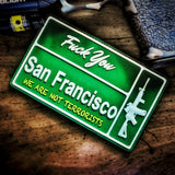 FU SAN FRAN - Battle Patches