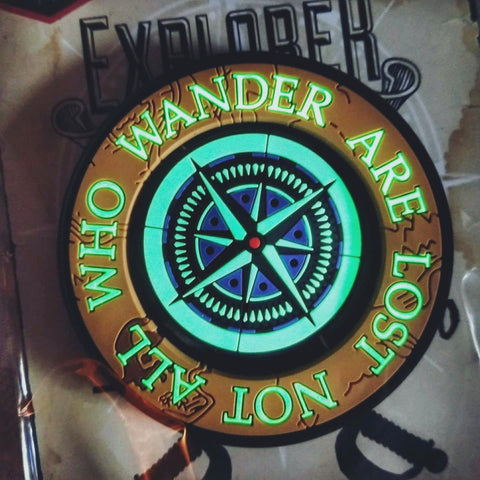 "The Explorer Series ""NOT ALL WHO WANDER ARE LOST"" Morale Patch"