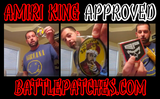 """Amiri King"" The King Has Spoken Morale Patch - Battle Patches"