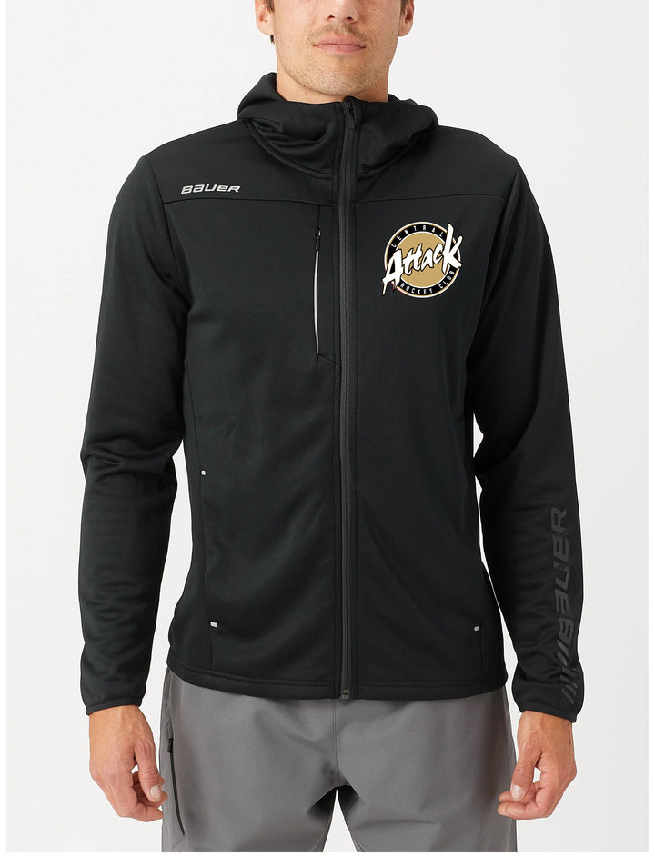 Bauer Vapor Fleece Full Zip Team Hoodie