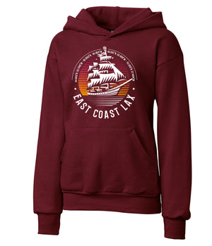 Re-LAX Youth Ship Hoodie