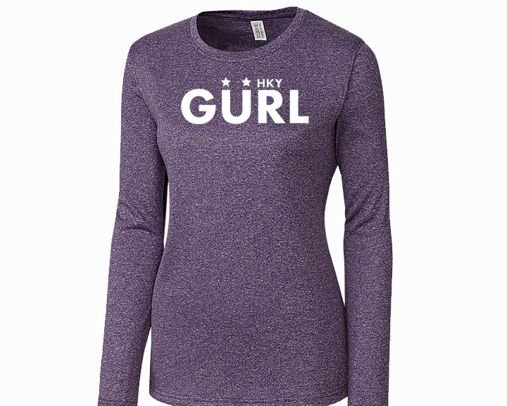 HKY GURL LONG SLEEVE DRYFIT