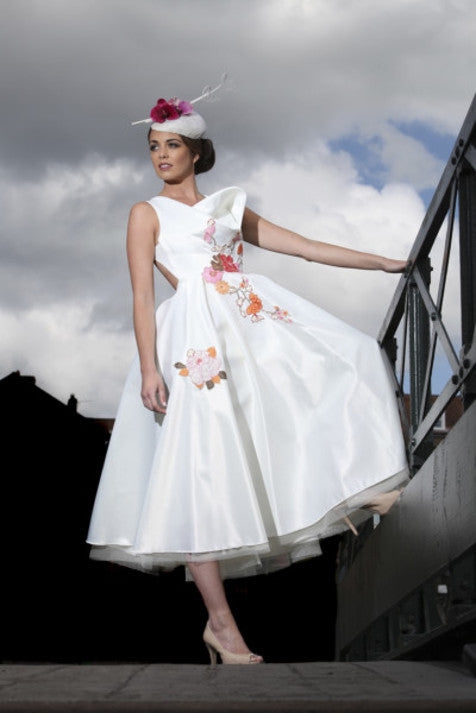 Yorkshire Post featured Vincent wedding dress