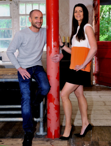 James Steward and Hannah Moody appear in Yorkshire Post article