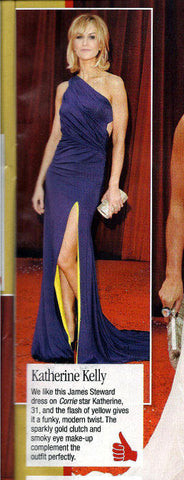 New May 2011 feature Katherine Kelly in her James Steward Dress