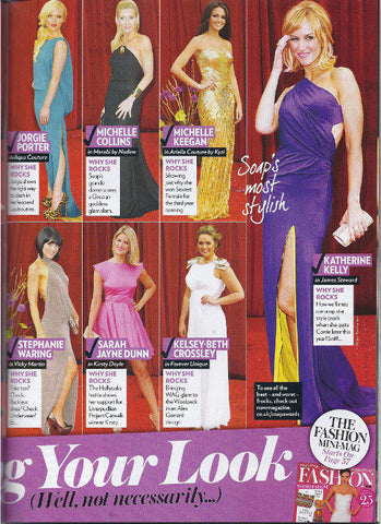 Now May 2011 feature Katherine Kelly in her James Steward Dress