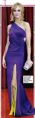 Soaplife June 2011 feature Katherine Kelly in her James Steward Dress