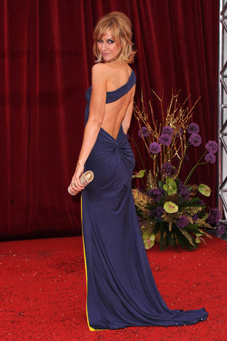 Katherine Kelly wearing her James Steward dress to the 2011 British Soap Awards