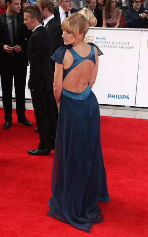 Katherine Kellys 2011 BAFTA dress by James Steward - back