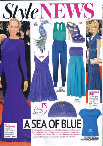 Katherine Kellys 2011 BAFTA dress by James Steward - press coverage Now