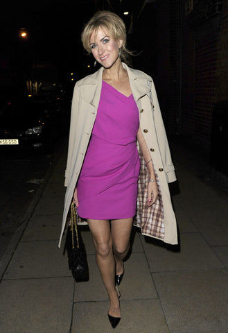 Katherine Kelly wears a James Steward dress to her Coronation Street Leaving Do 2012