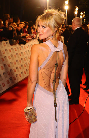 Katherine Kelly in her James Steward dress on the red carpet of the National Film Awards 2011 - 2