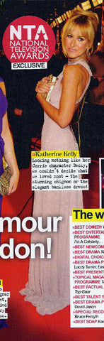 Best magazine features Katherine Kellys 2011 NTA James Steward Couture dress