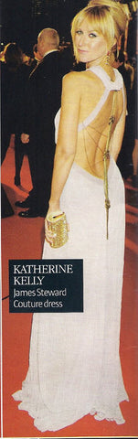 Look magazine features Katherine Kellys 2011 NTA James Steward Couture dress