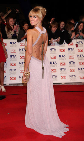 Katherine Kelly in her James Steward dress on the red carpet of the National Film Awards 2011 - 3