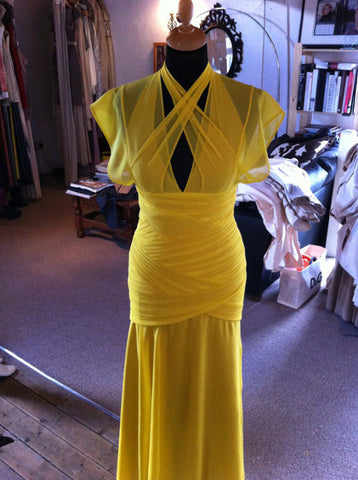 Katherine Kellys 2012 Olivier Awards dress in production by James Steward Couture - 4