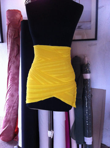 Katherine Kellys 2012 Olivier Awards dress in production by James Steward Couture