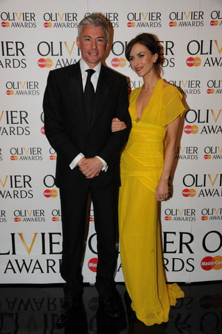 Katherine Kelly in a James Steward dress at the 2012 Olivier Awards