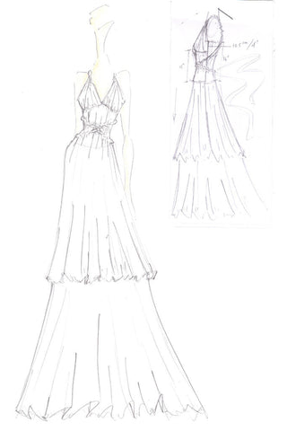 James Steward Bridal, Marilyn sketch