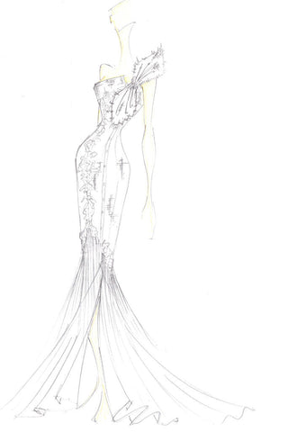 James Steward Bridal, Lincoln sketch