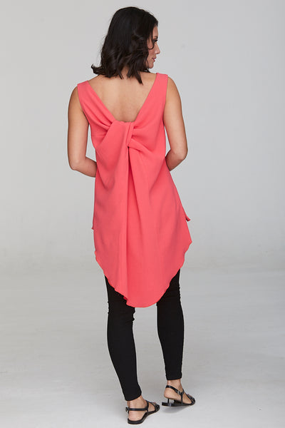 Wilson Knot Back Top