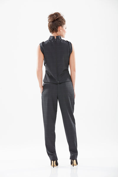 Madison Tailored Check Trouser