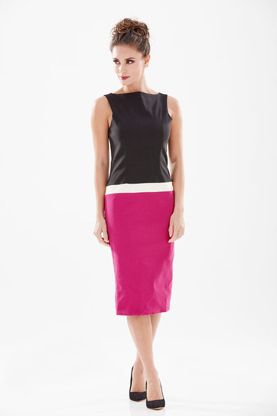 Newcastle Pencil Dress - New Colourway