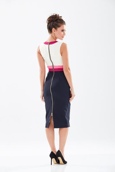 Cuckoo Pencil Dress - New Colourway