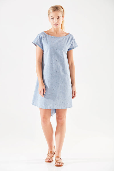Wilson Twist Knot Back Shift Dress