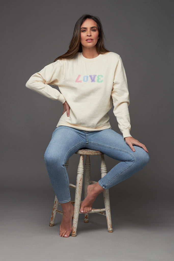 Pastel LOVE Sweatshirt