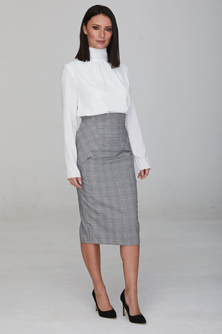 Poseidon High Waisted Skirt