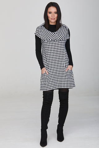 Zachariah Collared Shift Dress