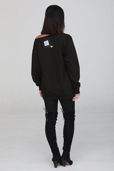 Bumble Bee Oversized Sweatshirt