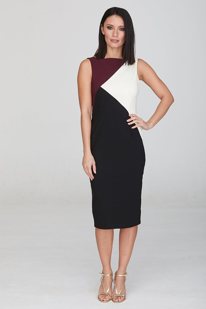 Chevin Pencil Dress