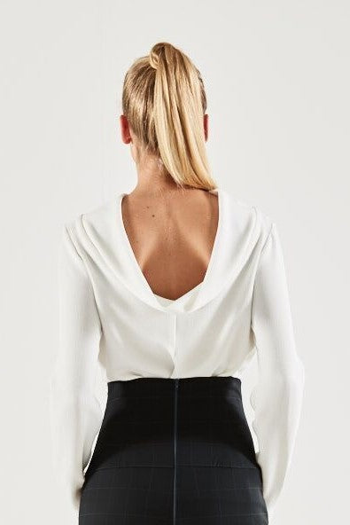 Kirby Cowl Back Top