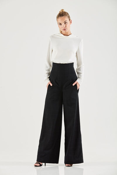 Madison High Waisted Trouser