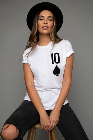 10 of Spades T Shirt