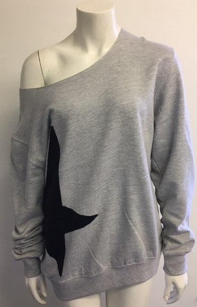 Oversized Star Sweatshirt