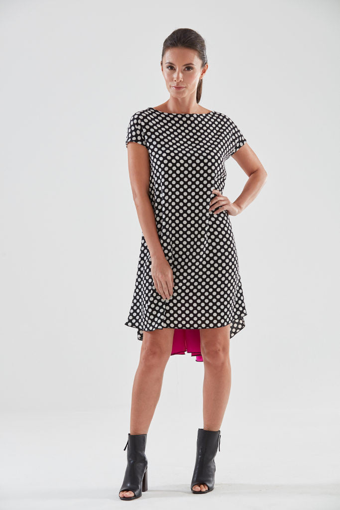 Aurora Short Sleeve Dress from the James Steward Ready-to-Wear collection
