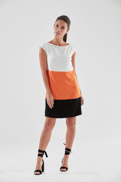 Miami Shift Dress (orange) from the James Steward Ready-to-Wear collection