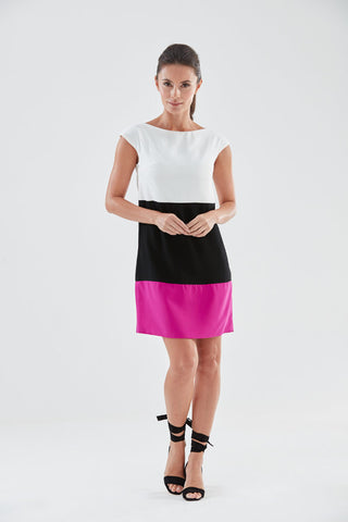 Miami Shift Dress (pink) from the James Steward Ready-to-Wear collection
