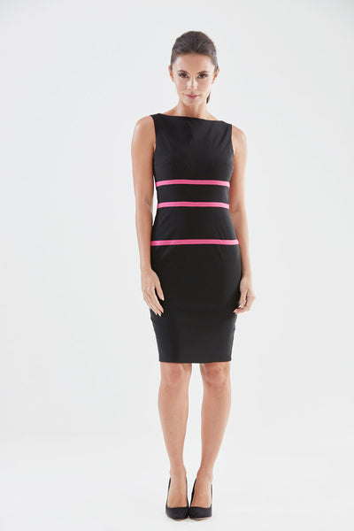 Rainbow Pencil Dress from the James Steward Ready-to-Wear collection